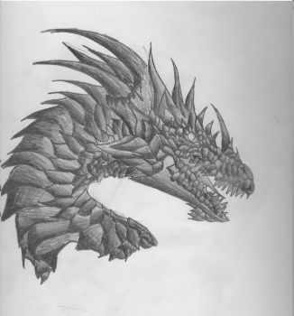 Old dragon 1 by Nerocimrro