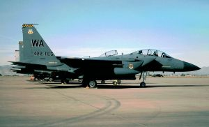 422 TES Commander's F-15E by F16CrewChief