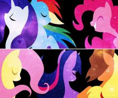 My Little Pony Background by Angelicsweetheart