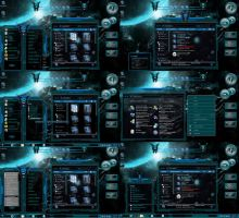 Aqua Glass Windows 7 Themes by tono3022