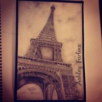 Eiffel Tower by Ashley-97
