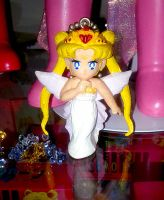 Neo-Queen Serenity Sailor Moon Keychain SOLD by onsenmochi