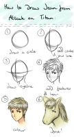 How To Draw Jean (from SnK) by Emeiri