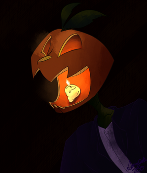 Mr. Spoopy Pumpkin (Animated) by Foxtrot167