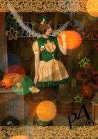 Persona4 the Golden- Chie Satonaka (Halloween ver) by GGN49