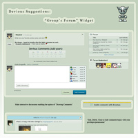 Suggestions: Group's Forum by Dark-Dragonfly