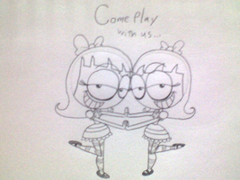Come play with us... by Montatora-501