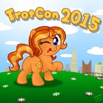 TrotCon 2015 poster by AleximusPrime