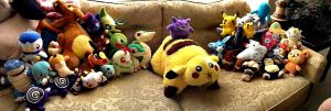 PokeDoll Collection :3 by GengarGirlCat