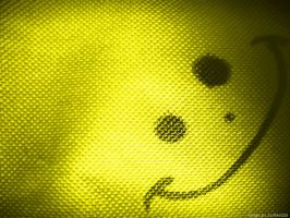 Smiley Wallpaper- Yellow by JustMe255