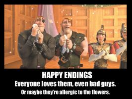 Happy Endings and Bad Guys by f4113n-4ng31-0f-r4in