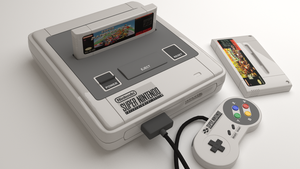 Snes render 2 by Grayfoxdie
