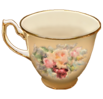 Grandmother's Cup by ScrapBee