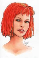 Leeloo by umetnica