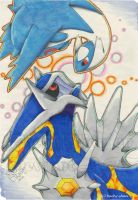 Latios and Primal Dialga - Blue Feeling by RachyChan