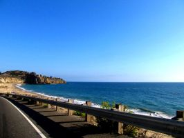 Road by the seashore... by vfrrich