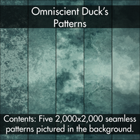 Green Grunge Patterns by Omniscient-Duck
