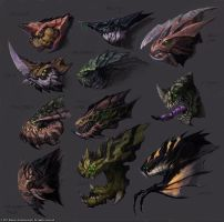 StarCraft - Zergy Faces II by SamwiseDidier