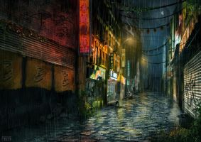 Chinatown part2 by AaronQuinn