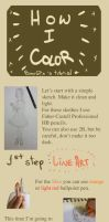How I Color - Coloring Tutorial by BunnyGDx