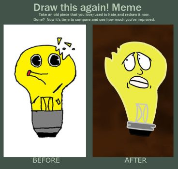 Before and After Meme by magmal0rd