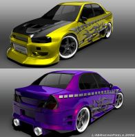 L-X Evo 5 RPP Tuned Quit by ragingpixels