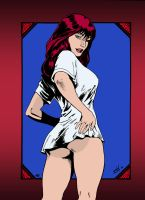Mary Jane Watson by David Lima by edCOM02