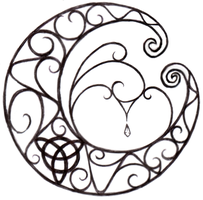 Wicca Moon Tattoo by littlenatnatz101