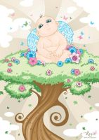 Baby in a Tree... by Kraven1985