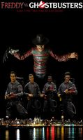 Freddy Vs. Ghostbusters by Police-Box-Traveler