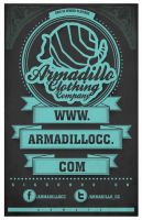 Armadillo Clothing poster by CALLit-ringo