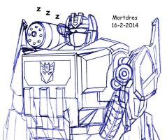 Soundwave Snore by Mortdres