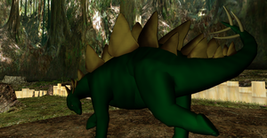 MMD Newcomer Stegosarus + DL by Valforwing