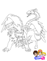 Chimera by Writer-Colorer
