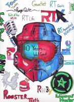 Rooster Teeth: Ten Years Well Spent by ScoutWalker