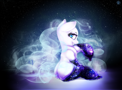 Galaxy socks by TheTarkaana