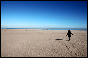Lonely sand by lalas