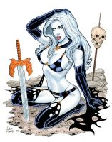 Lady Death Brief Respit by Tarzman