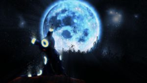Umbreon used Moonlight by Syrabi