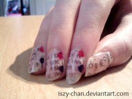 The Queen's Diamond Jubilee Nails! by Iszy-chan