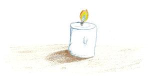A Candle by Author-Goddess