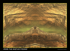 inside the martian pyramid by fraterchaos