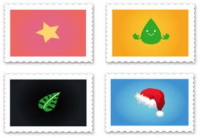 Stamps by dt-design