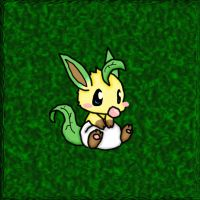 Baby Leafeon by ClannadLover22