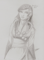 Hollyday sketch Beatrice XIV by Beatrice-Dragon-Team