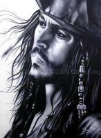 Cpt. Jack Sparrow- Johnny Depp by superchickenn123