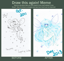 Draw this again! ~ Navi by MyStarryDreams