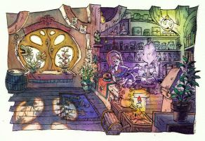 apothecary by marekage