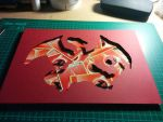 Charizard Collage by SamhwHo