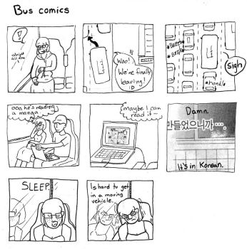 Bus Comics by MilkyWayDancer